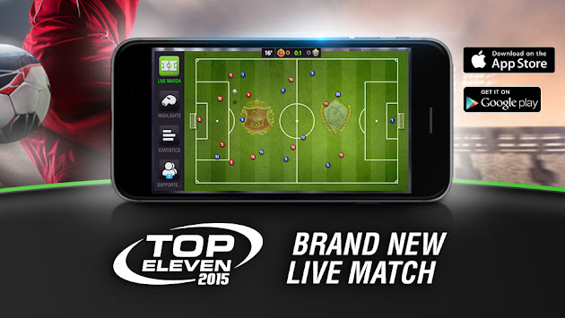 [YAML: gp_cover_alt] Top Eleven - Be a Football Manager