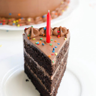 Devil's Food Cake with Rich Chocolate Buttercream Frosting