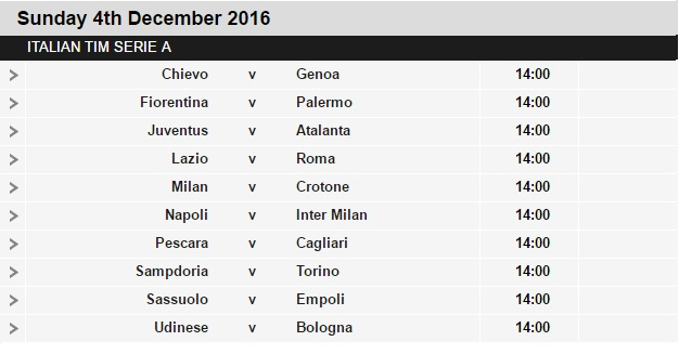Serie%2BA%2Bschedule%2B15 Planning a Football Trip to Italy - SERIE A FIXTURES 2016/17