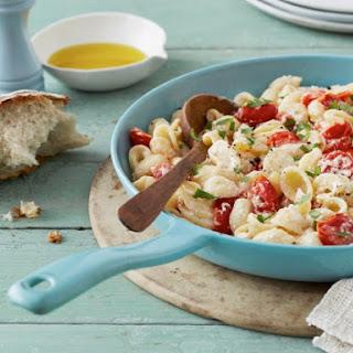 Orecchiette Pasta with Ricotta and Cherry Tomatoes Recipe