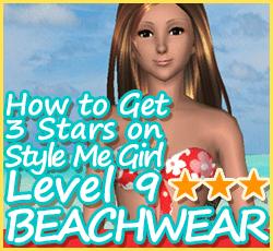 Style Me Girl Level 9 - Beachwear - Fara - Stunning! Three Stars