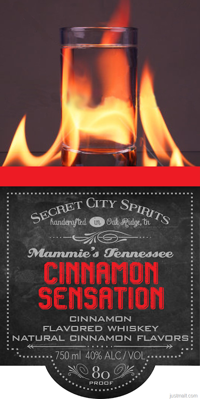 Secret City Spirits - Mammie's Tennessee Cinnamon Sensation