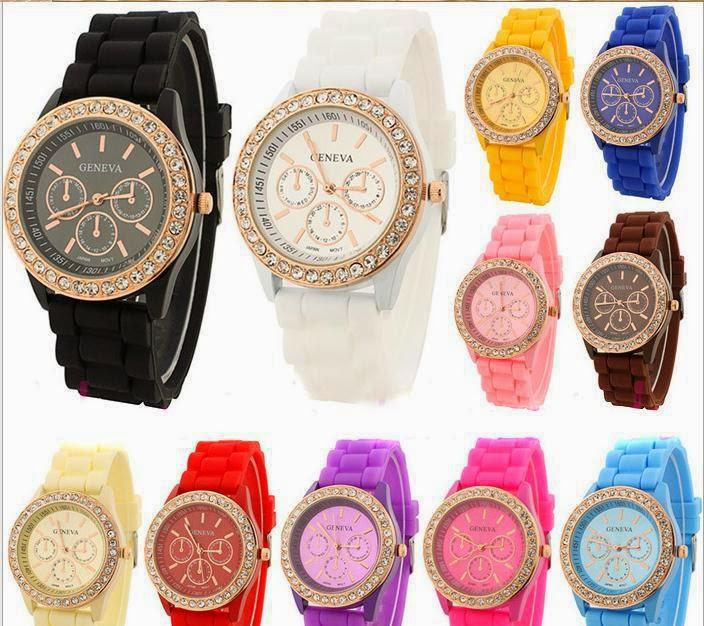 Часы женские силиконовые купить