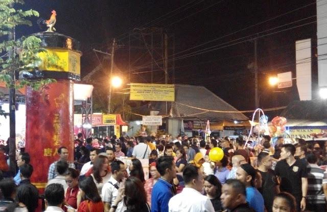 Pasar Imlek Semawis Semarang