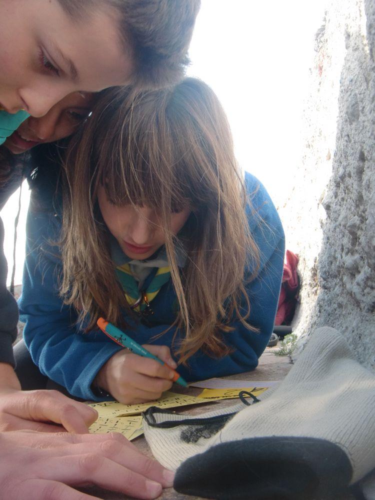 Raiers Sortida Sant Salvador de les Espases 2010 - CIMG0378.JPG
