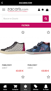 Zacaris Zapatos Online screenshot 1