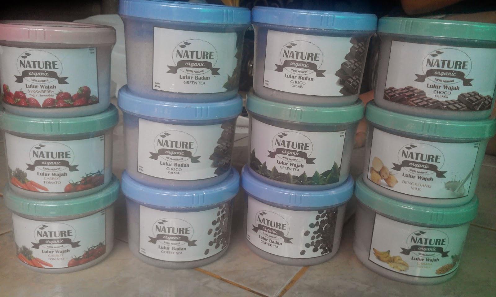 Nature Organic Lulur Badan Bengkoang Milk Spa 330gr Daftar Harga Wajah Happy Shopping