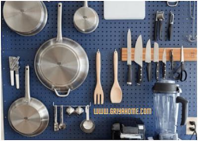 Tempat Penyimpanan Perlengkapan Dapur