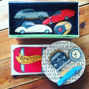 Biscuiteers Classic Car Show Biscuit Tin