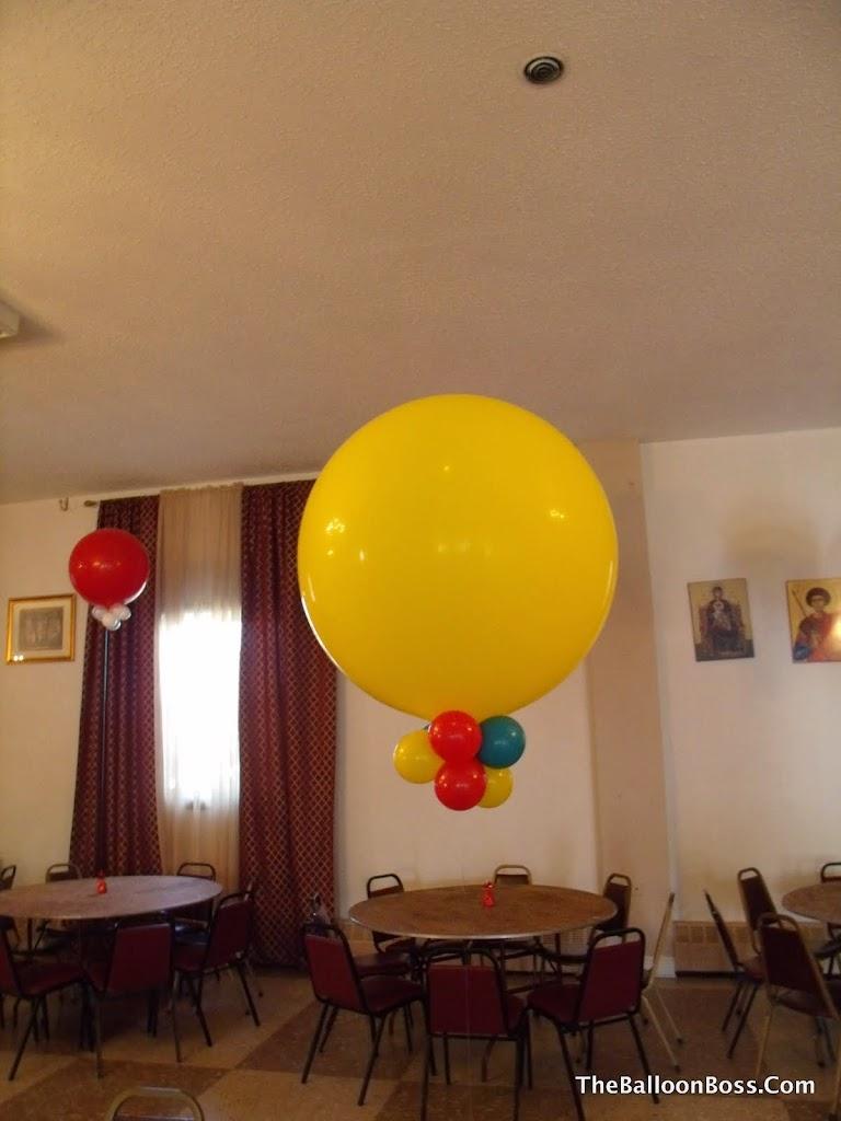 Balloon centerpieces nj the
