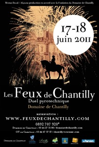 feux de chantilly 2011