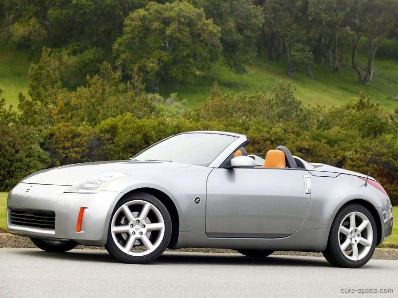 2006 nissan 350z convertible specifications pictures prices. Black Bedroom Furniture Sets. Home Design Ideas