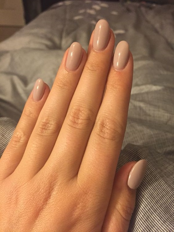 Cute Nude Color Nails For Stylish Manicure Nails C
