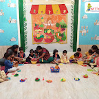 Fruit Salad Celebration by Playgroup Section at Witty World Bangur Nagar (2018-2019)