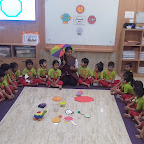 Introduction to Octagon Shape by Nursery Afternoon Section at Witty World, Chikoowadi (2018-2019)