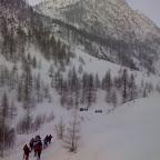 Percorrendo il freddo vallone Forneris  (BiG)