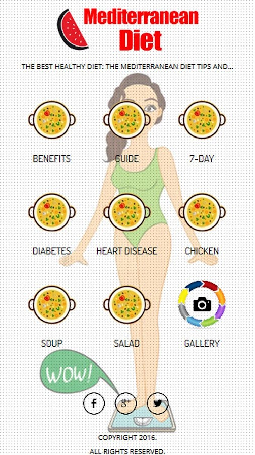 Mediterranean Diet Plan Screenshot