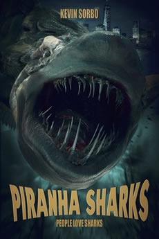 Capa Tubarão-Piranha (2019) Dublado Torrent