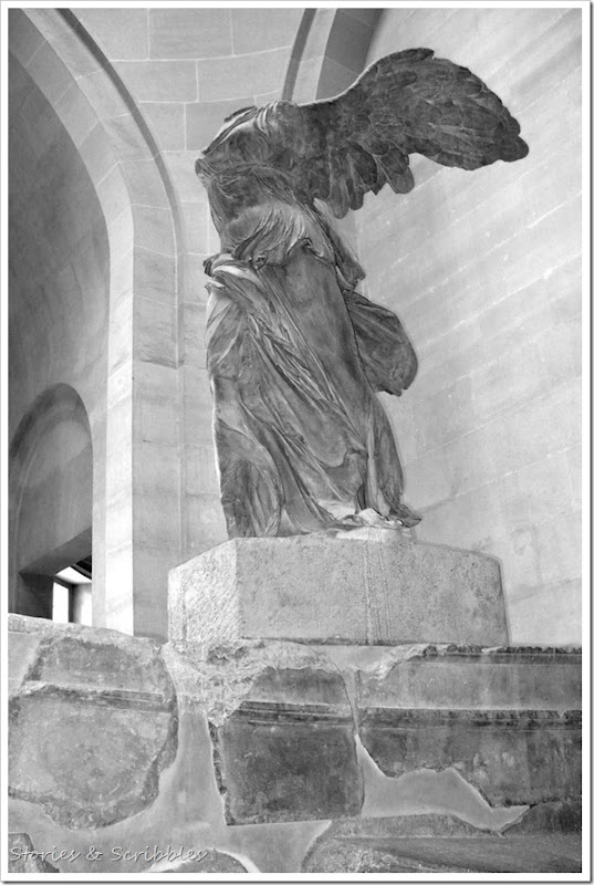 Winged Victory of Samothrace (Louvre Museum, Paris)