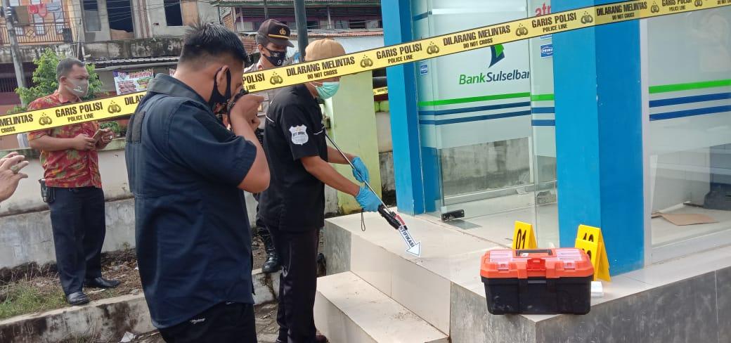 ATM Bank Sulselbar di Rusak, Kapolsek Marioriwawo Ungkap Ini.