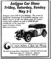 Antique Car Show May 1, 1996