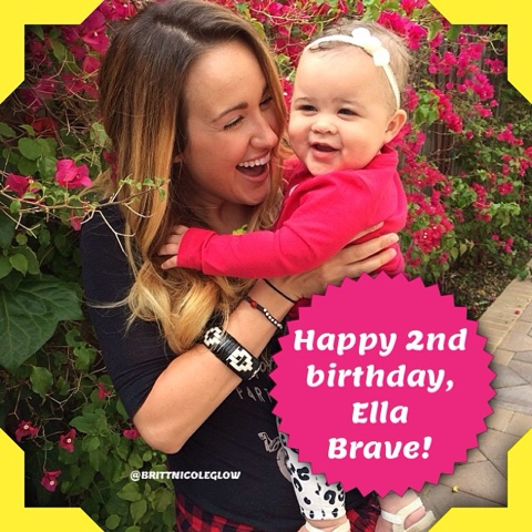happy 2nd birthday to britt nicoles daughter ella brave time has flown by so quickly since her birth she is growing into a beautiful young lady