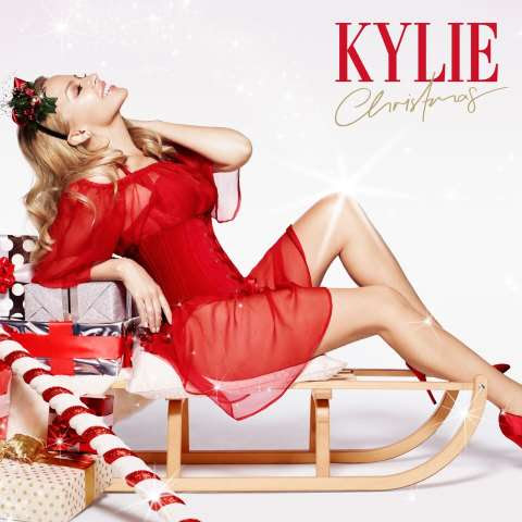 Cover Album Natal - Kylie Christmas 2015 Deluxe Edition