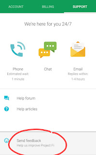 Scheduled voicemail greeting change google product forums 3 tap send feedback at the bottom of the page m4hsunfo