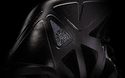 nike lebron 10 gr black anthracite 7 09 Release Reminder: Nike LeBron X Carbon / Black Diamond