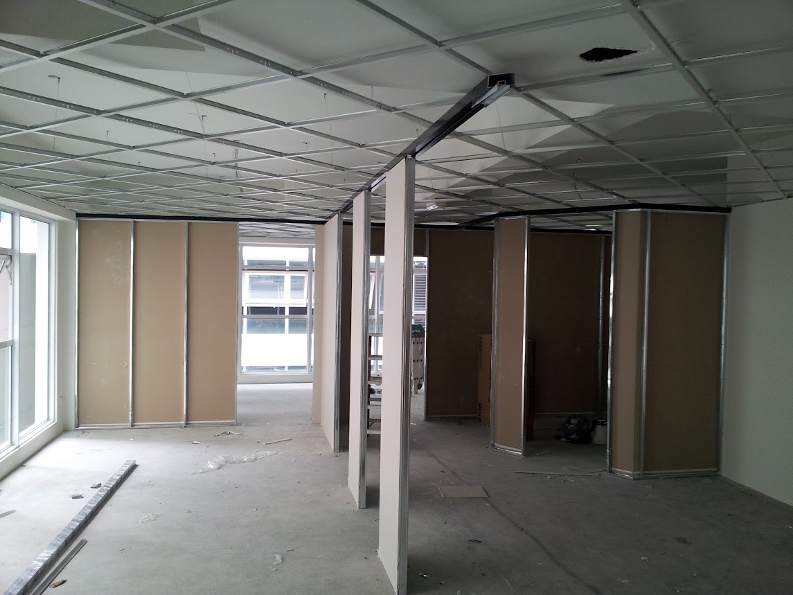 ceiling and partition works