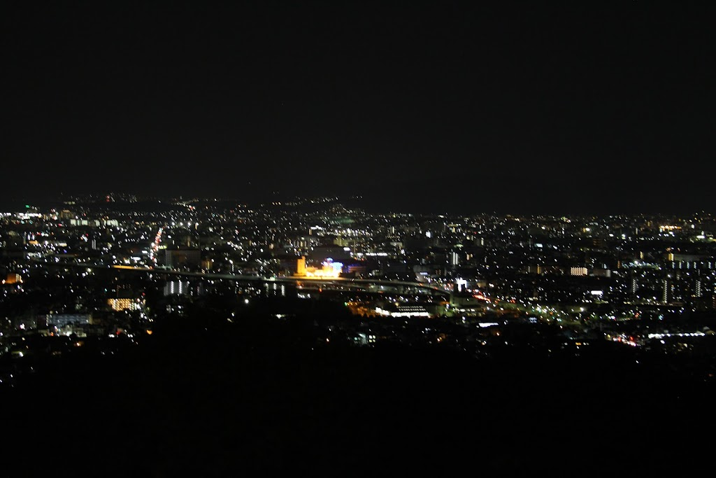 伏見稲荷大社の夜景