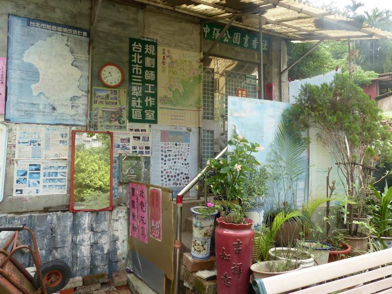 Taipei. Le parc Sanli et un évenement contre les mines dans le monde - mines%2B018.JPG