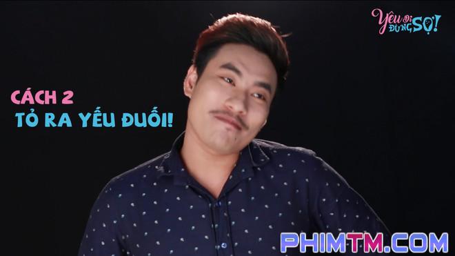 Kiều Minh Tuấn bày cách cưa gái trong phim mới - Ảnh 3.