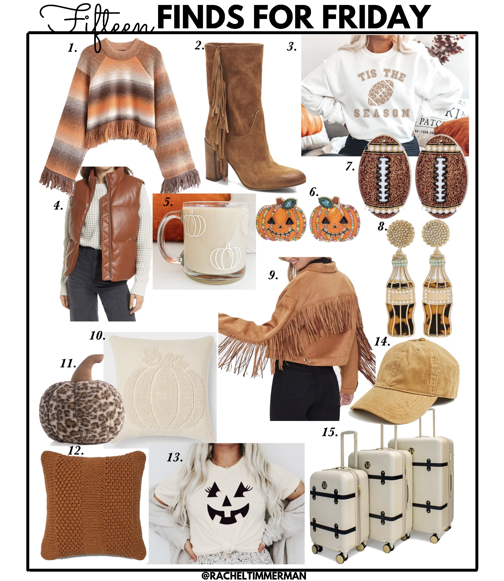 Fifteen Finds for Friday - Something Delightful Blog