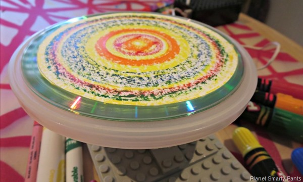 Lego Spin Art Machine