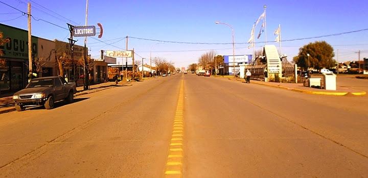 Avenida Loberia en Qequén Avenida Benedicto Campos y Calles 521 y 519