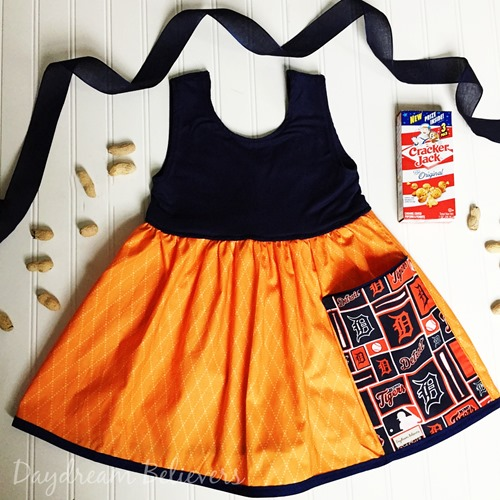Detroit Tigers Spirit Tunic Tank for Girls by Daydream Believers Designs
