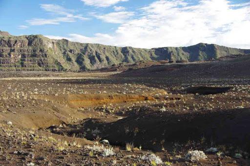 Randonnée dans la plaine des Sables. Réminiscence de mes randonnées sahariennes d'antan !