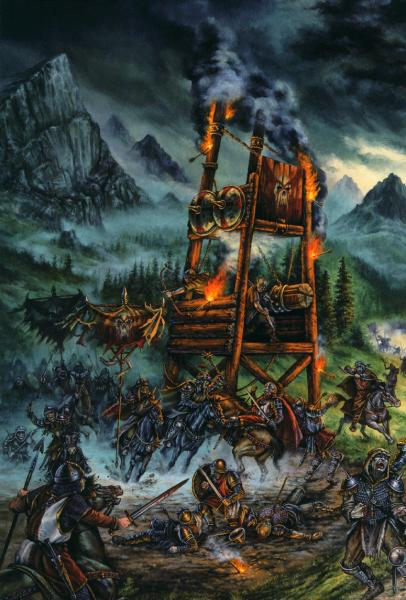 Fantasy Of Horror Landscape, Fantasy Scenes 1
