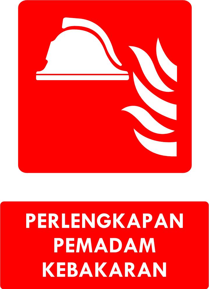 Rambu Perlengkapan Pemadam Kebakaran