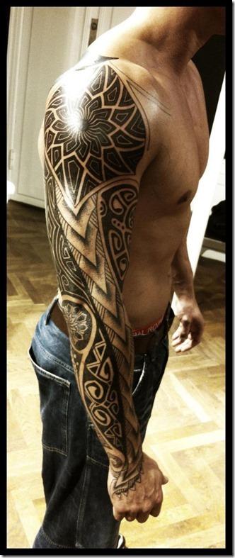 Brazo Tatuajes Para Hombres Tatuajes247 - Tatuajes-hombro-y-brazo-mujer