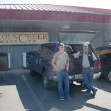 Lincoln Creek Lumber donated rebar and 2x8 PT lumber