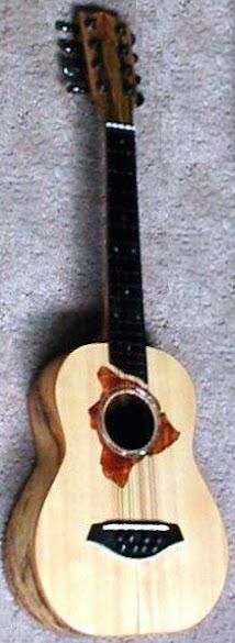 Richard Godin kealia Tenor 8 string Taropatch Ukulele