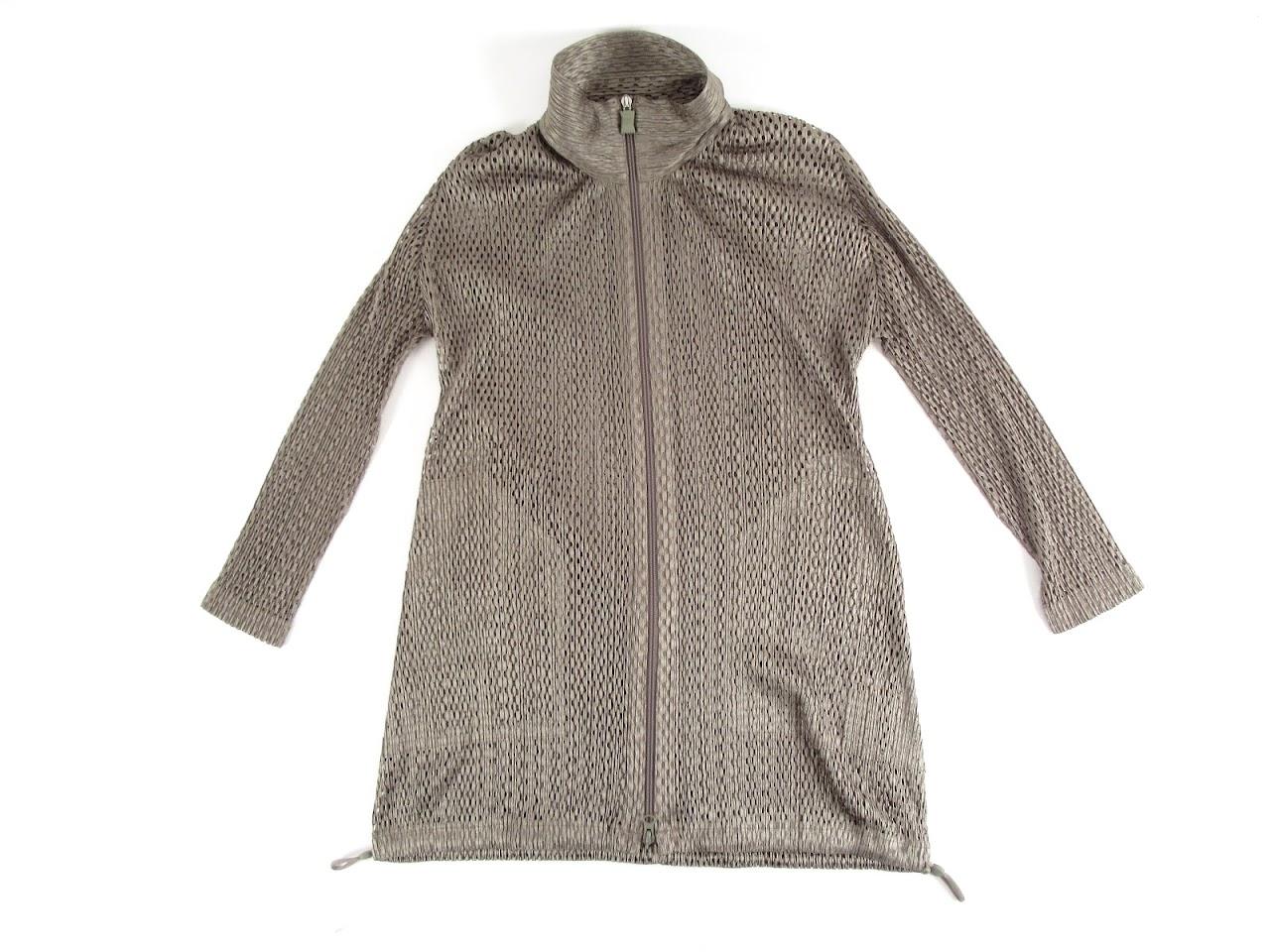 Issey Miyake Pleats Please  Mesh Track Sweater