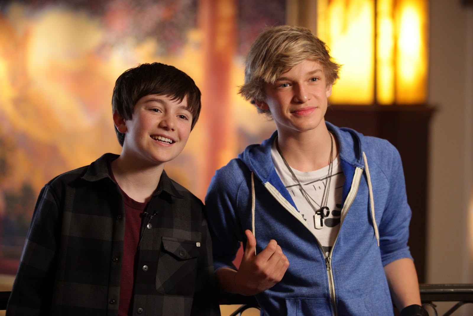 On the teen beat greyson chance and cody simpson meet fans at the if you didnt know greyson chance and cody simpson shared the stage and gave a free concert at the grove in los angeles feb 26 m4hsunfo