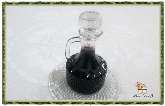 Calda de suco de uva 1