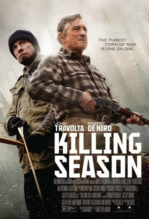 Poster Of Killing Season (2013) Full Movie Hindi Dubbed Free Download Watch Online At Alldownloads4u.Com