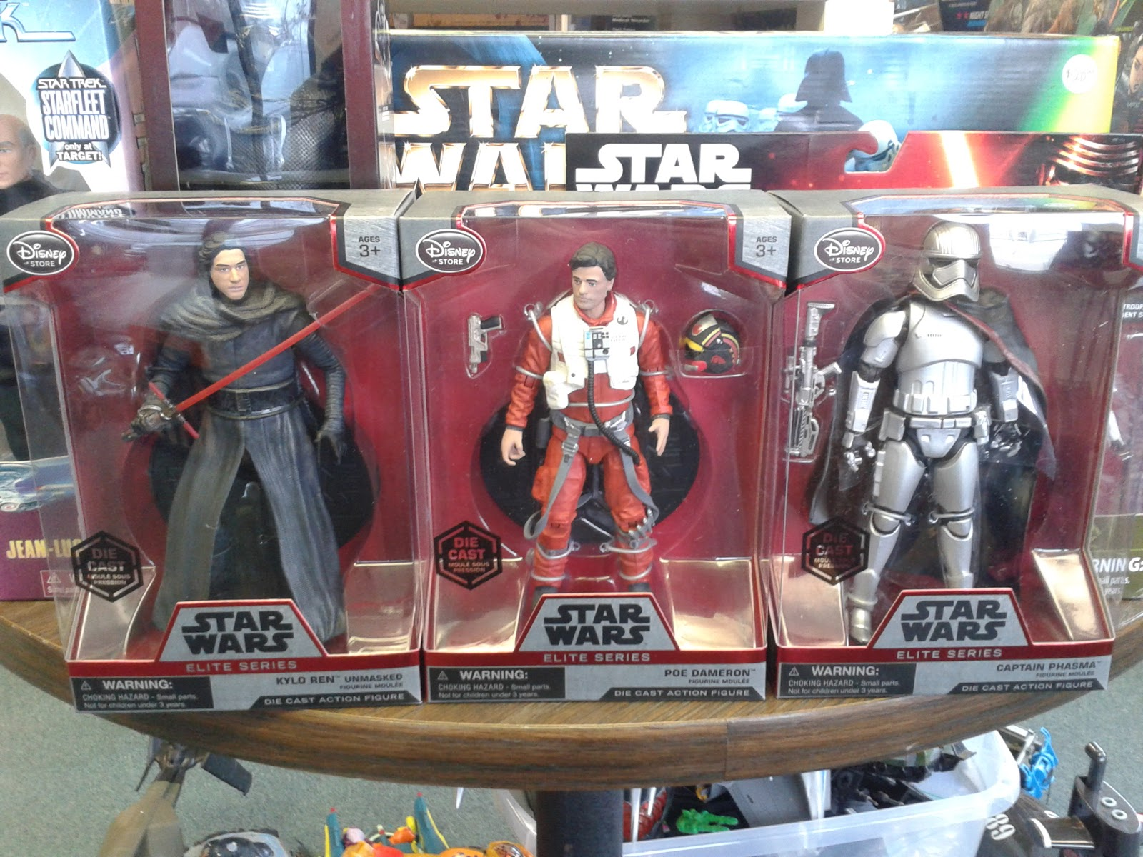 Catapult Collectibles: Star Wars Elite Series Die-Cast Action Figures