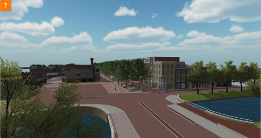 2014 Beatrixstraatvirtueel Op deze laatste impressie is (vanaf de nieuw gebouwde Keizersbrug) rechts de nieuwbouw van de Kop Beatrixstraat te zien.png