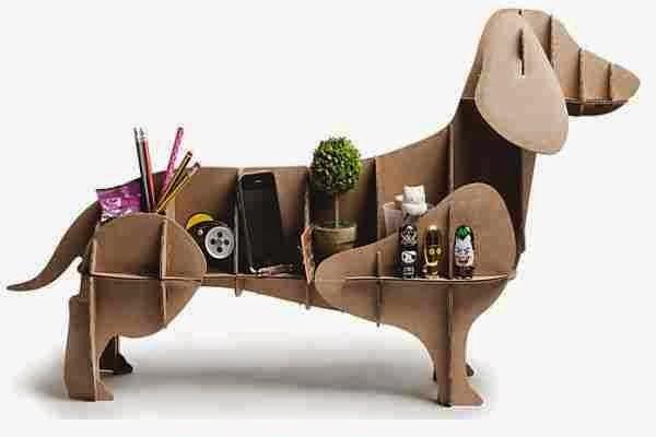 Perro de carton Regalos para padres